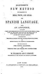 Ollendorff's New Method of Learning to Read, Write, and Speak the Spanish Language