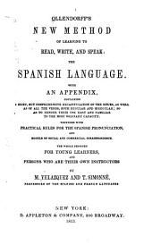 Ollendorff's New Method of Learning to Read, Write, and Speak the Spanish Language: With an Appendix