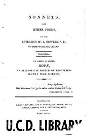 Sonnets, and Other Poems