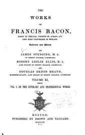 Works of Francis Bacon: Volume 11