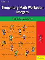 Elementary Math Workouts  Integers PDF