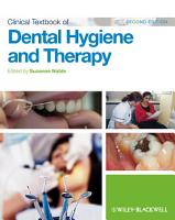 Clinical Textbook of Dental Hygiene and Therapy PDF