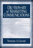 Dictionary of Marketing Communications