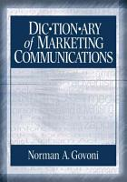 Dictionary of Marketing Communications PDF
