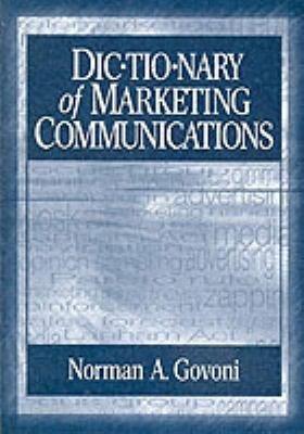 Dictionary of Marketing Communications PDF