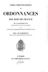 Ordonnances des rois de France de la troisième race: Volume 23
