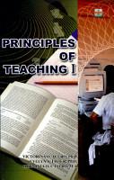 Principles of Teaching I  2007 Ed  PDF