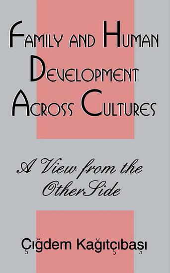 Family and Human Development Across Cultures PDF
