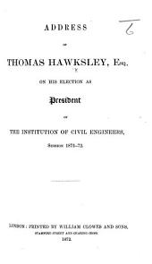 Minutes of Evidence given by T. Hawksley [on the water supply of Nottingham; before the Commissioners of Inquiry into the state of large towns, 15 & 19 Feb. 1844].