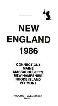New England  1986 PDF