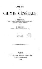 Cours de chimie générale: Atlas