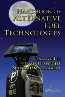 Handbook of Alternative Fuel Technologies PDF