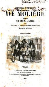 Œuvres complètes de Molièr: Volume4