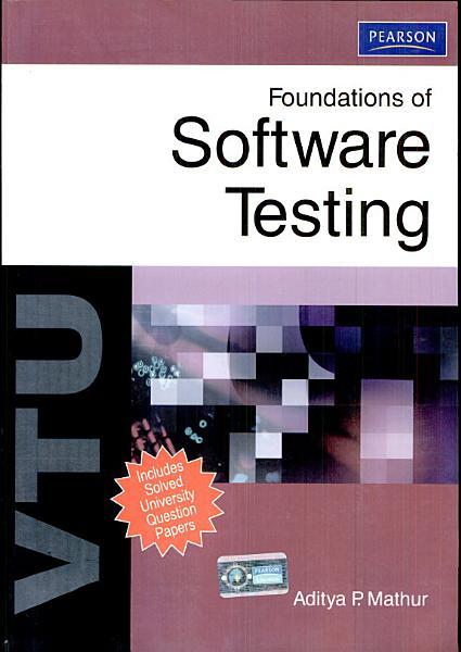 Foundations of Software Testing  For VTU PDF