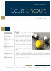 Court Uncourt - Volume I, Issue II: STA Law Firm