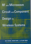 RF and Microwave Circuit and Component Design for Wireless Systems PDF