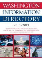 Washington Information Directory 2018 2019 PDF