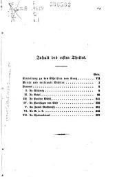 Schriften von Friedrich von Gentz: T. Briefe und vertraute Blätter