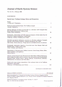 Journal of Earth System Science PDF