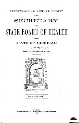 Annual report of the Commissioner of the Michigan Department of Health for the fiscal year ending     1894 PDF