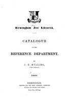 Catalogue of the Reference Department PDF