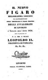 Il nuovo Figaro melodramma giocoso (etc.)