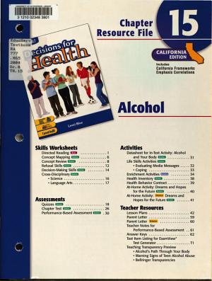 CA Ch Res  15 Dechlth Blu 2005 PDF