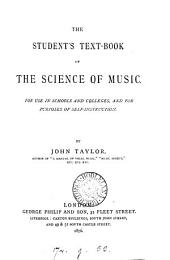 The Student's Text-book of the Science of Music