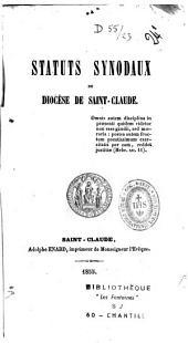 Statuts synodaux du Diocèse de St.-Claude