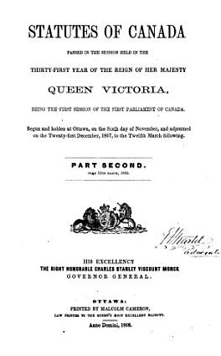 Statutes of Canada PDF