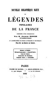 Légendes populaires de la France: Volume 1