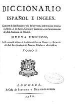 Diccionario español e ingles