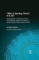 Who Is Nursing Them  It Is Us PDF