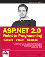 ASP NET 2 0 Website Programming PDF