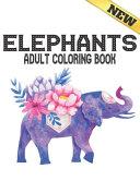 Elephants Adult Coloring Book