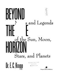 Beyond the Blue Horizon PDF