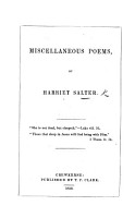 Miscellaneous Poems PDF