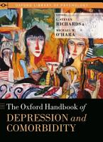 The Oxford Handbook of Depression and Comorbidity PDF