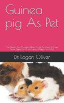 Guinea Pig As Pet PDF