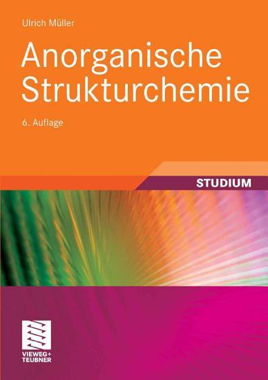 Anorganische Strukturchemie PDF