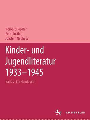 Kinder  und Jugendliteratur 1933   1945 PDF