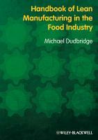 Handbook of Lean Manufacturing in the Food Industry PDF