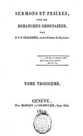 Sermons et prières pour les dimanches ordinaires: Volume3