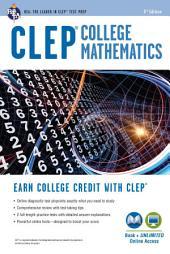 CLEP® College Mathematics Book + Online: Edition 3