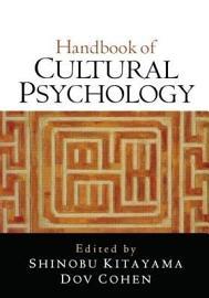 Handbook Of Cultural Psychology  First Edition