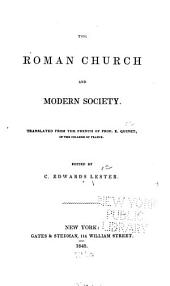 The Roman Church and Modern Society