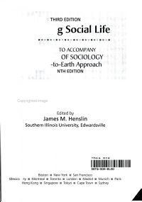 Exploring Social Life