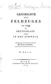Geschichte des Feldzuges von 1799 in Deutschland und in der Schweiz: Band 2
