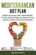 Mediterranean Diet Plan Book
