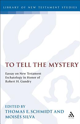 To Tell the Mystery PDF